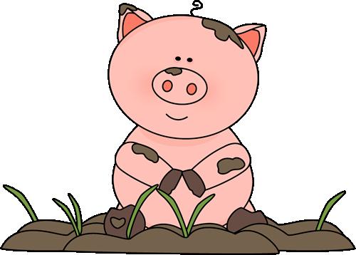 PNG Pig In Mud-PlusPNG.com-500 - PNG Pig In Mud
