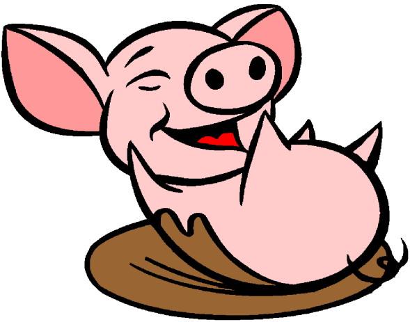 Pig - PNG Pig In Mud