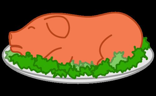 PNG Pig Roast - 76975