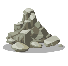 File:Stone Pile.png - PNG Pile