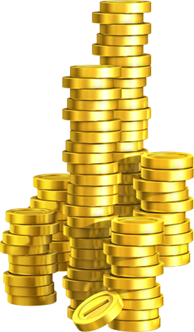 Pile of Coins.png - PNG Pile