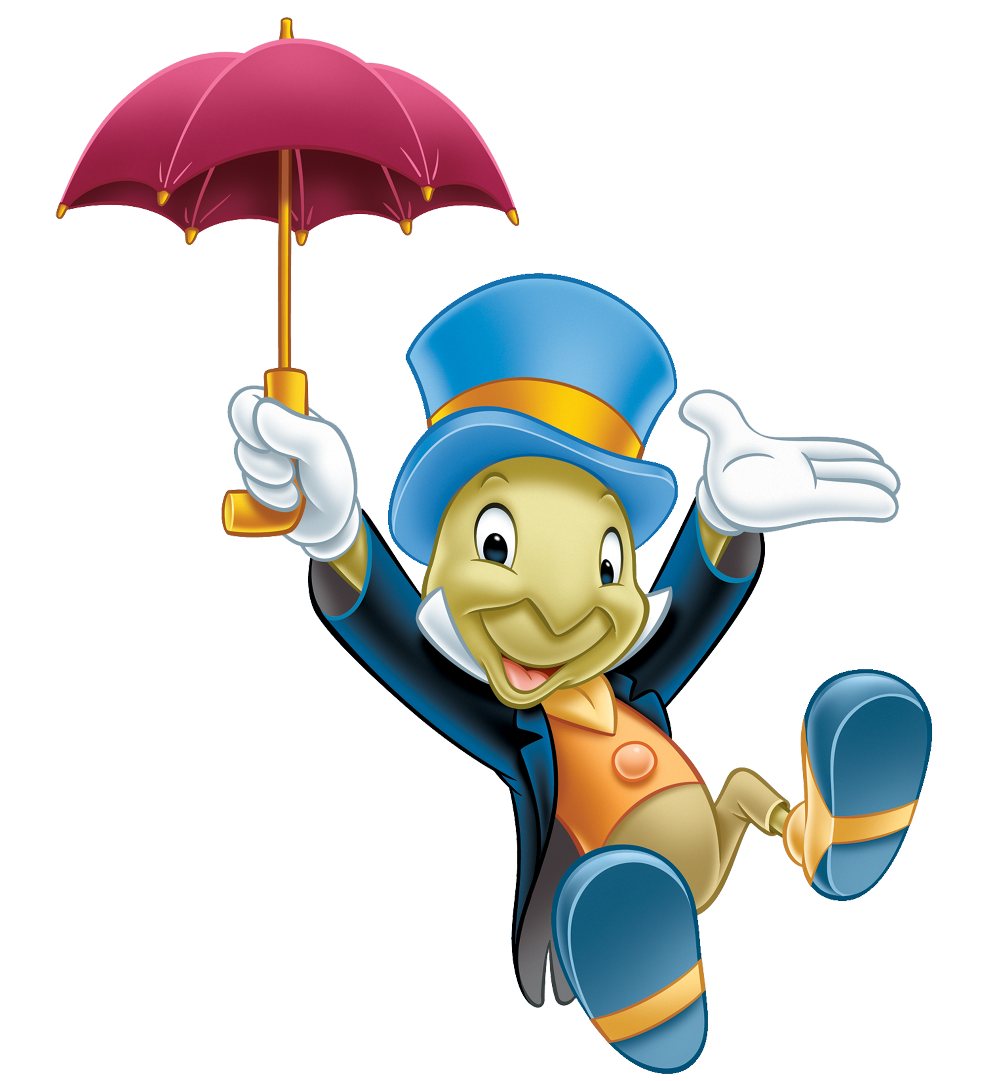 Jiminyumbrella.png - PNG Pinocchio