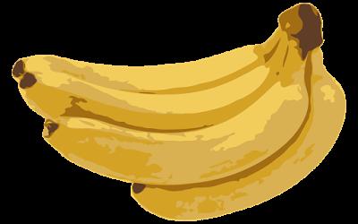 clipart gambar buah pisang raja - PNG Pisang