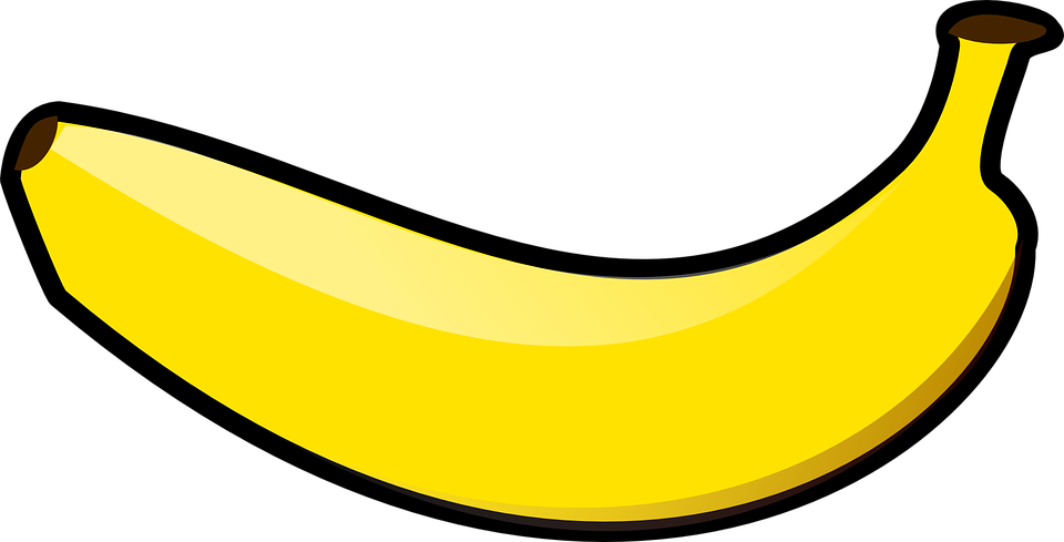 Free vector graphic: Banana, Fruit, Yellow, Ripe, Food - Free Image on  Pixabay - 311160 - PNG Pisang