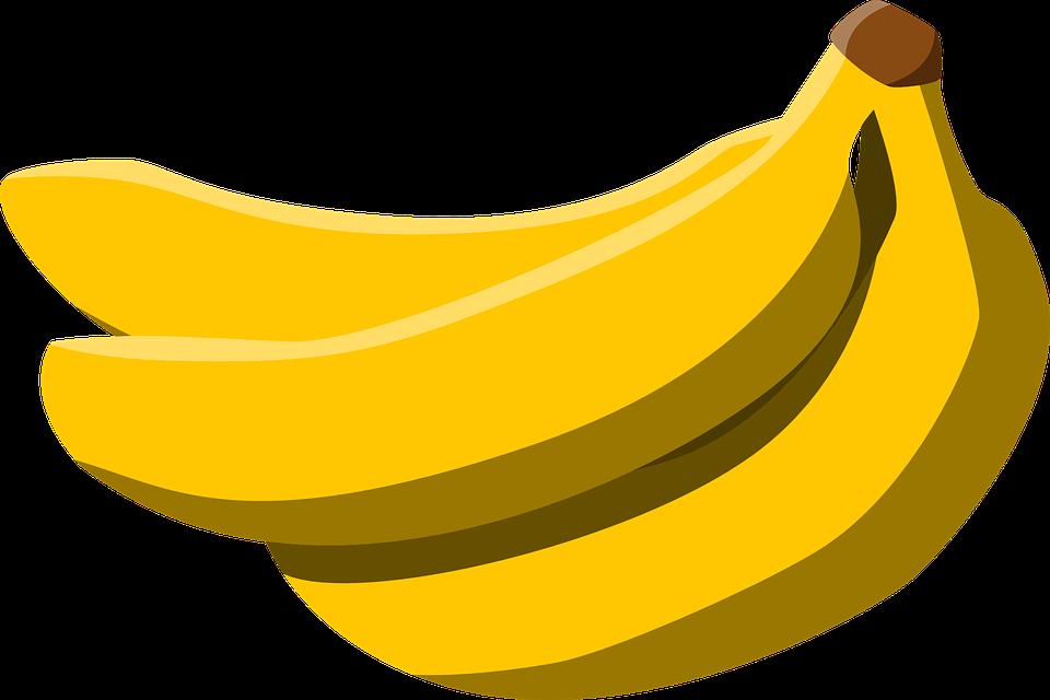 Pisang, Makanan, Buah, Kuning - PNG Pisang