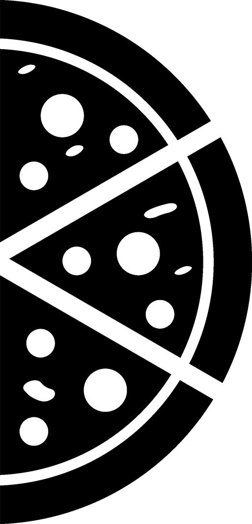ITu0027S BRICKINu0027 SIMPLE - PNG Pizza Black And White