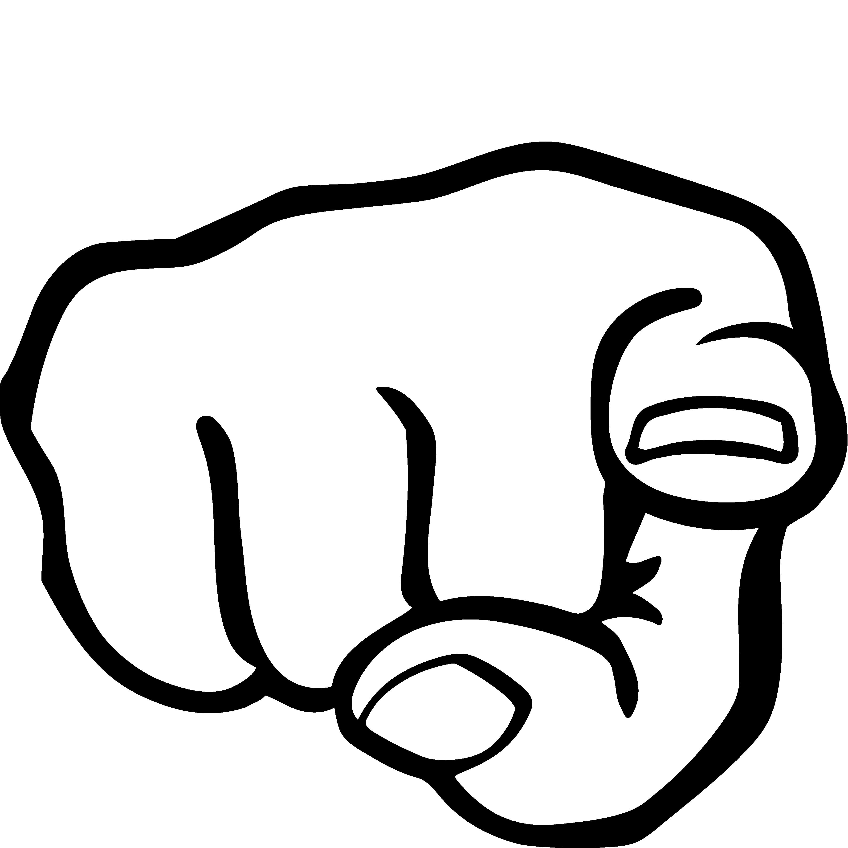 PNG Pointing Finger - 76891