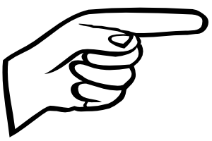 PNG Pointing Finger - 76883
