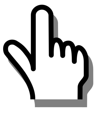 PNG Pointing Finger - 76881