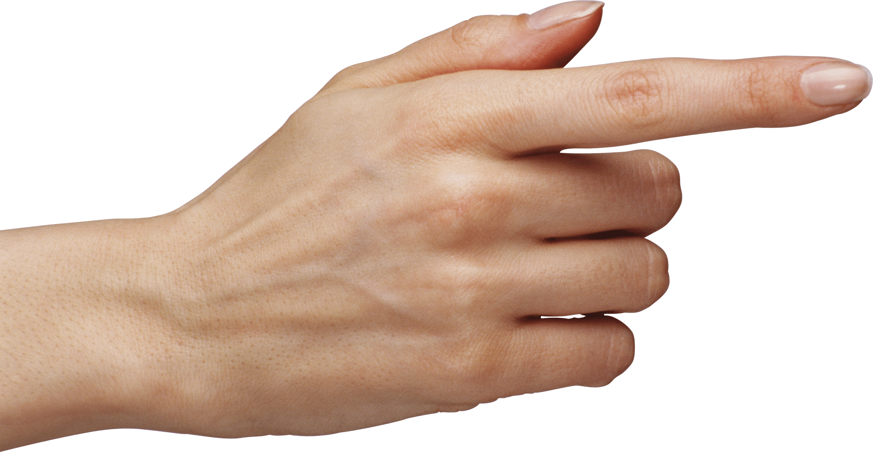 Woman Pointing Finger - PNG Pointing Finger