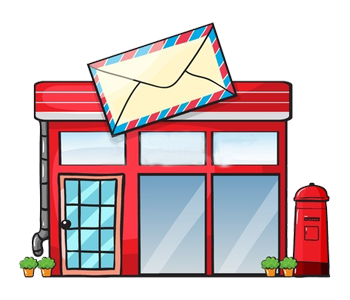 how to send mail to a post office