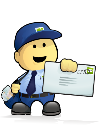 Email Marketing Made Easy - Mr Postman - PNG Postman