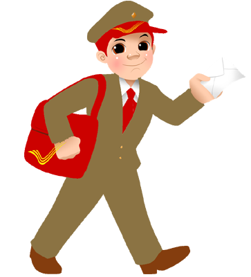pin India clipart postman #11 - PNG Postman