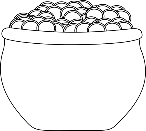 PNG Pot Black And White - 71376