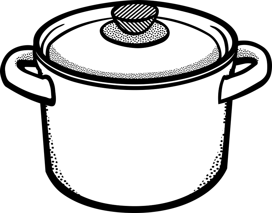 PNG Pot Black And White - 71379