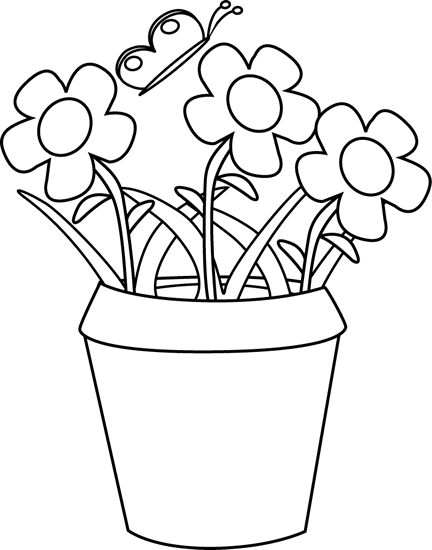Png pot black and white transparent pot black and whiteg images garden png pot black and white mightylinksfo
