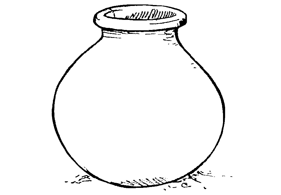 PNG Pot Black And White - 71373