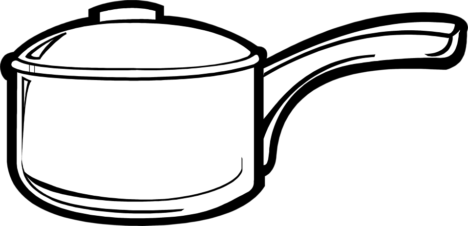 PNG Pot Black And White - 71375