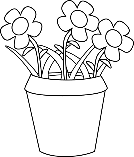 PNG Pot Black And White - 71382