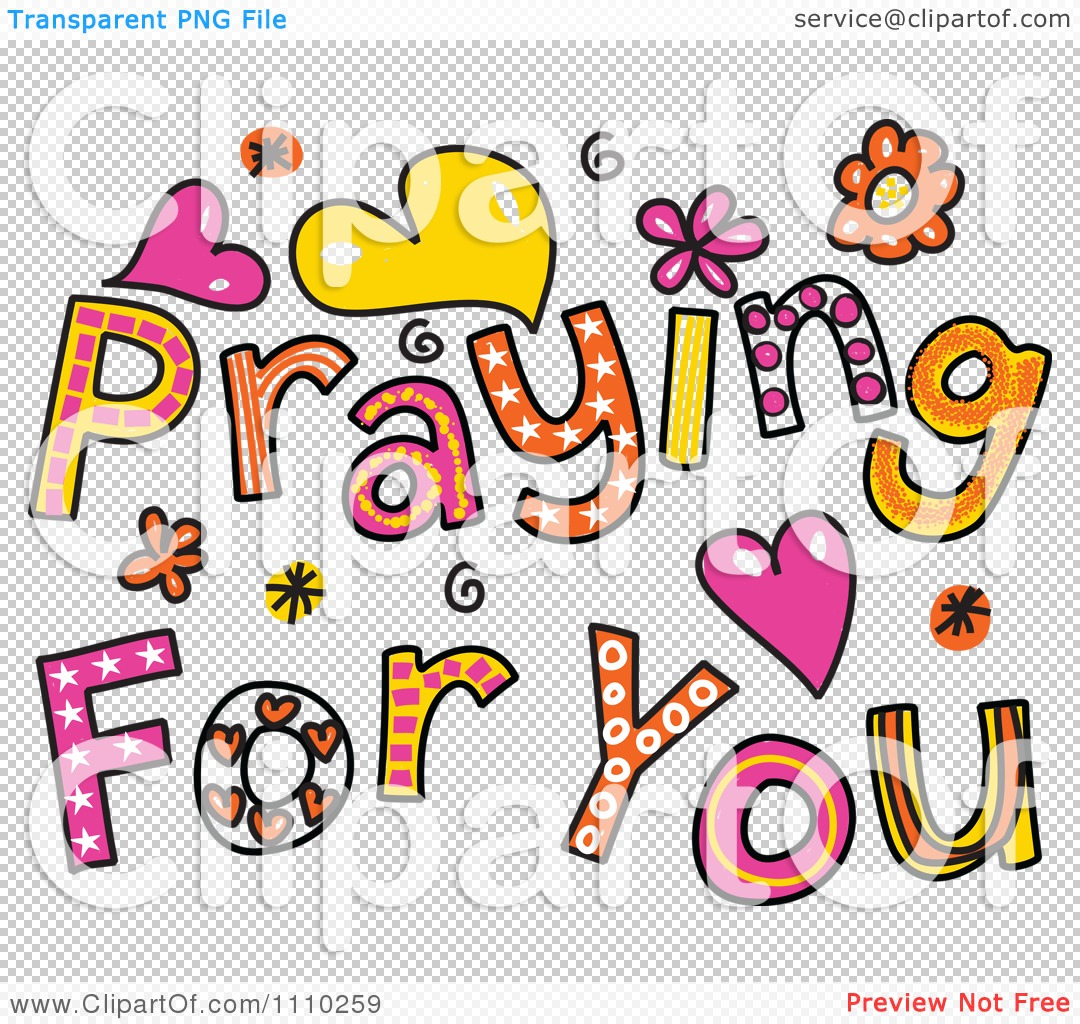 PNG file has a transparent background. - PNG Praying For You