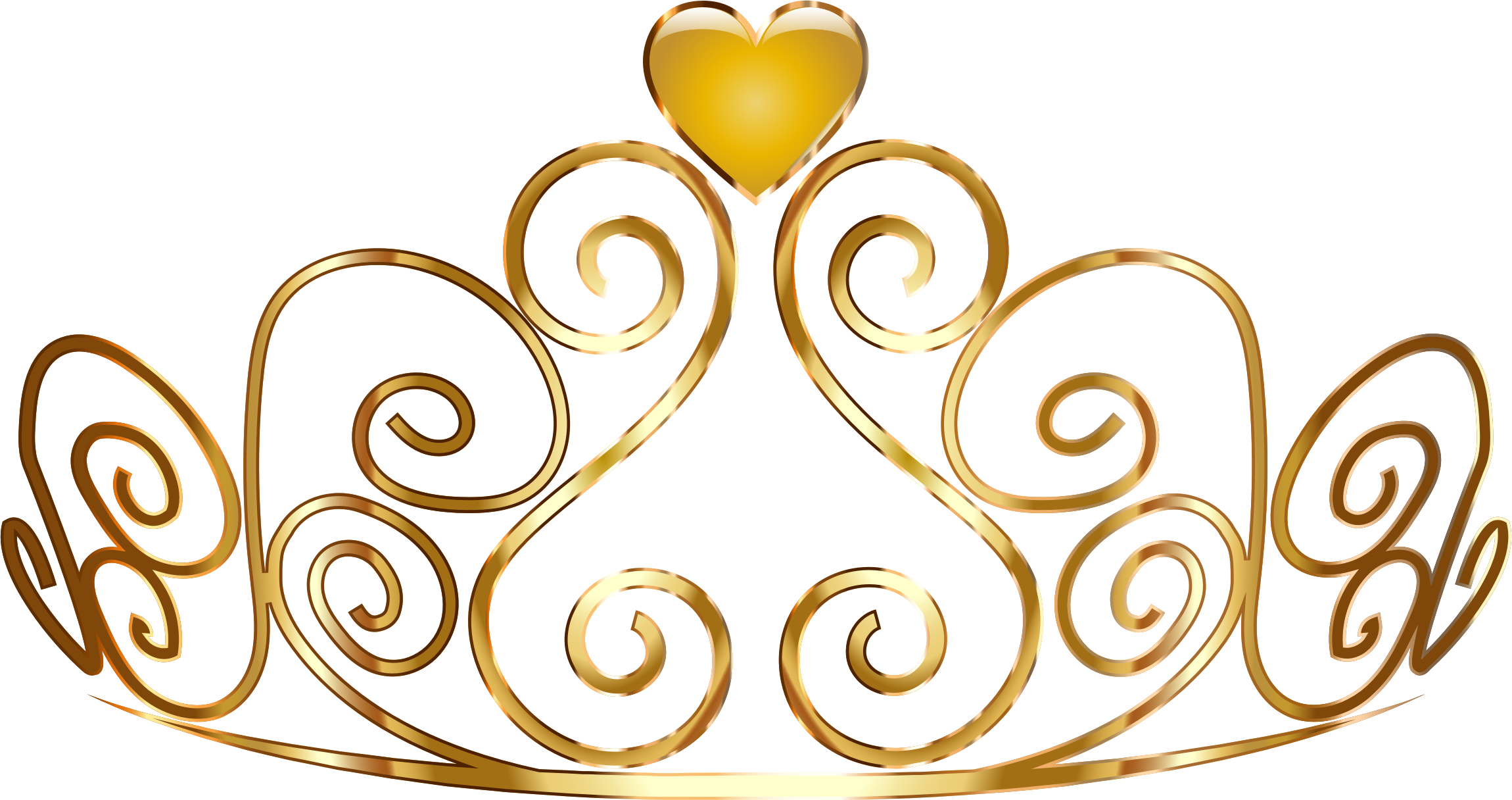 pin Gold clipart princess crown #6 - PNG Princess Crown