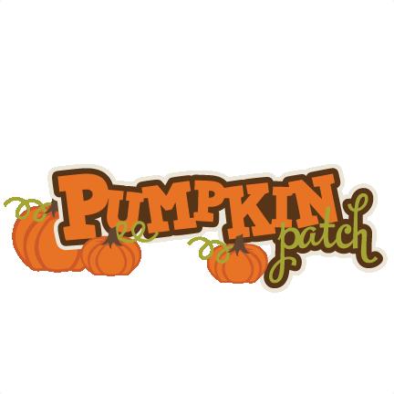 Pumpkin Patch SVG scrapbook title pumpkin svg files fall svg cuts autumn  svg cut files - PNG Pumpkin Patch