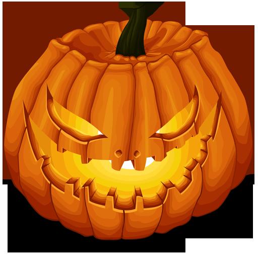 512x512 Pixel - PNG Pumpkins Halloween