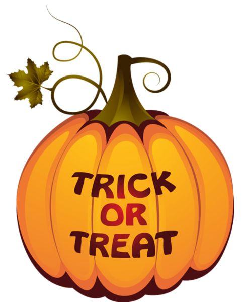 Transparent Trick Or Treat Pumpkin PNG Clipart. Halloween PlusPng.com  - PNG Pumpkins Halloween