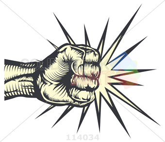 PNG Punching Fist - 76498
