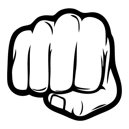 PNG Punching Fist - 76491