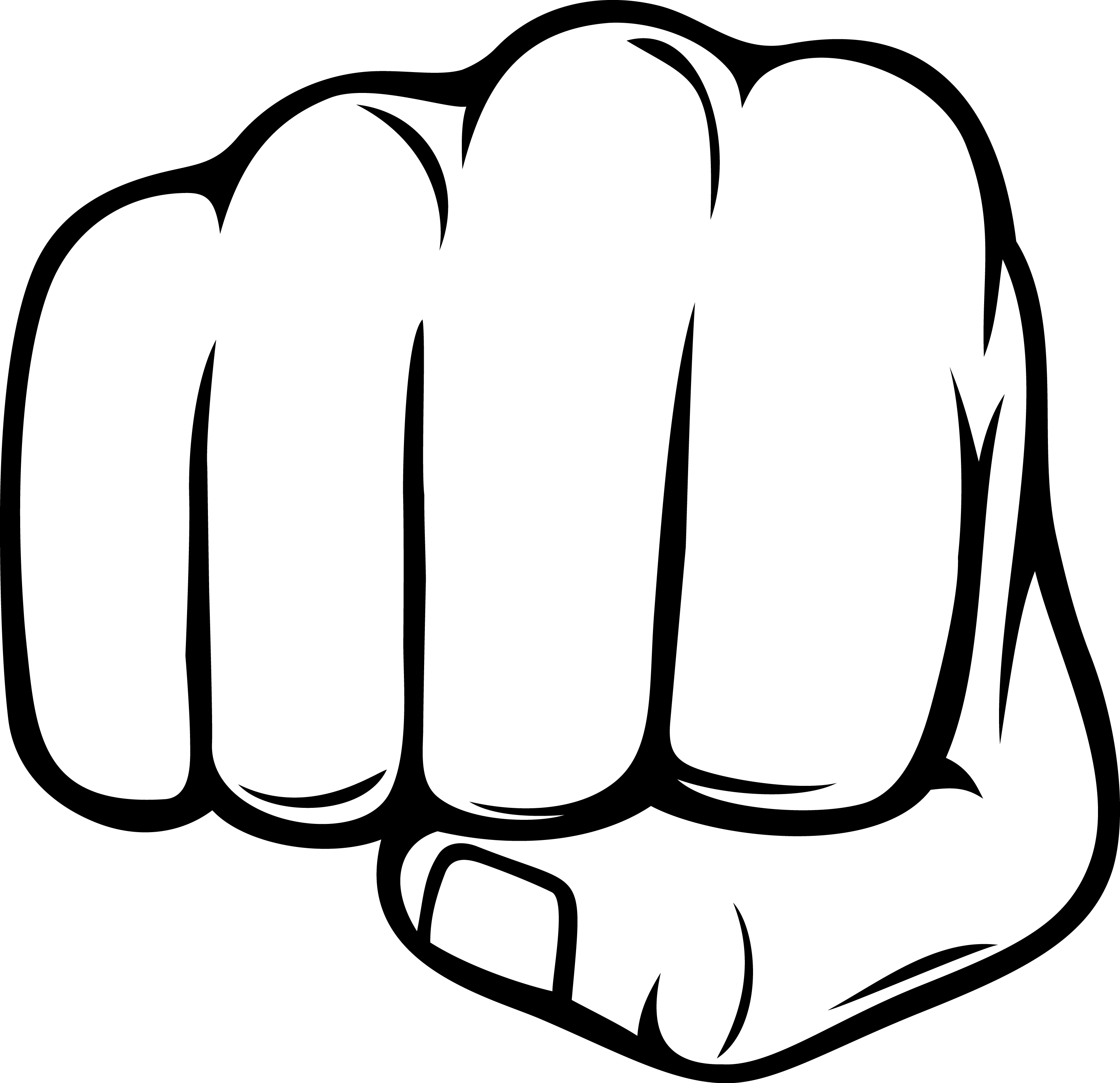 PNG Punching Fist - 76487