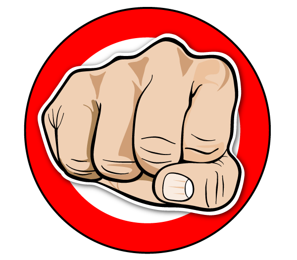 PNG Punching Fist - 76486