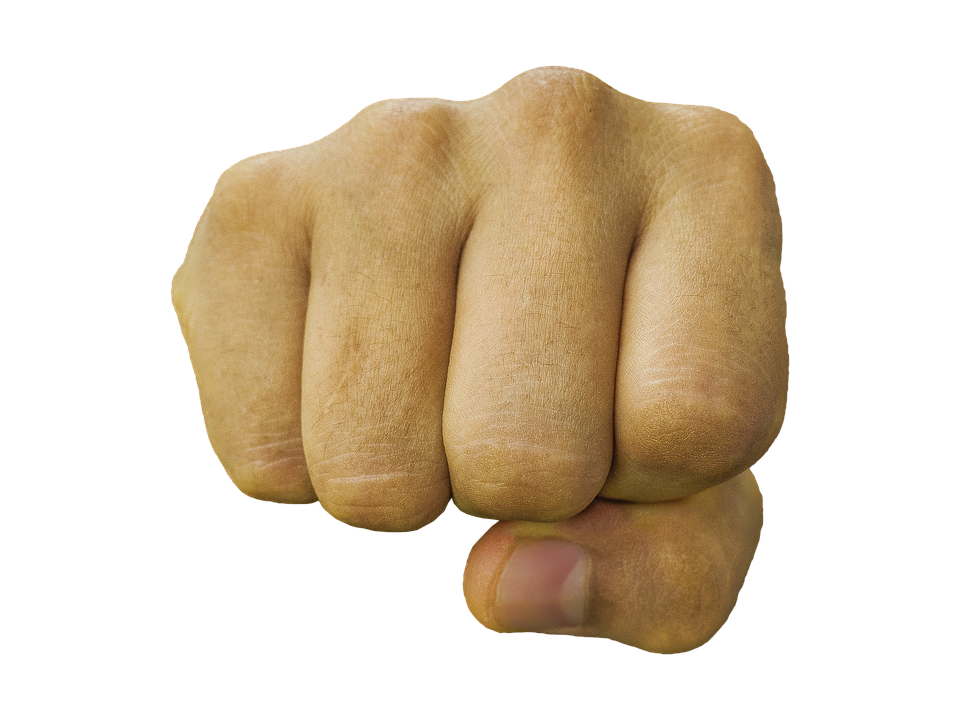 PNG Punching Fist - 76494