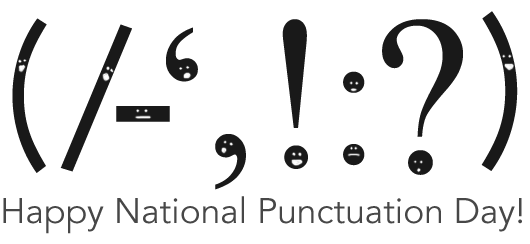Our Fave Five Punctuation Marks - PNG Punctuation