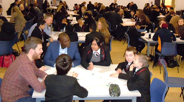 Lawnswood School pupils learn about careers - PNG Pupils In Class