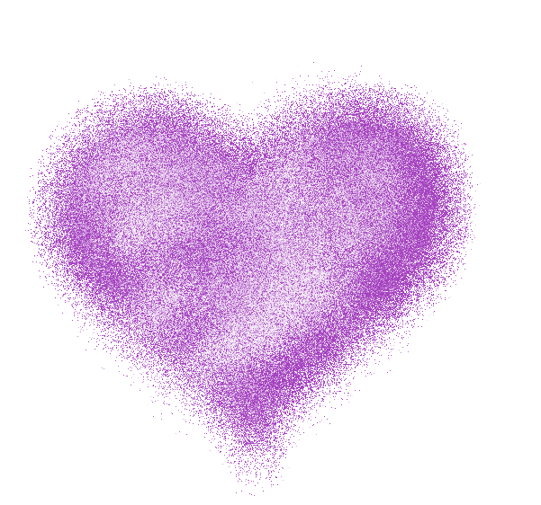 Clipart library: More Like Fuzzy Purple Heart by JSSanDA - PNG Purple Heart