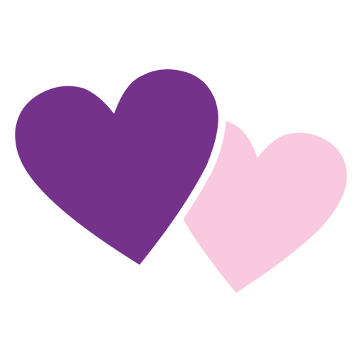 Pink purple hearts icon png - PNG Purple Heart