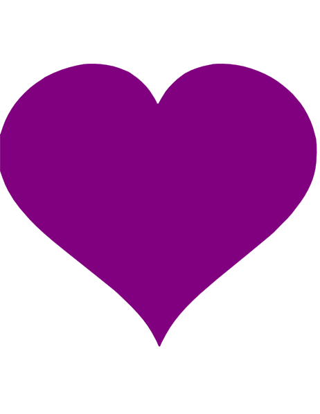 Purple Heart Clip Art at Clker pluspng.com - vector clip art online, royalty free u0026  public domain - PNG Purple Heart