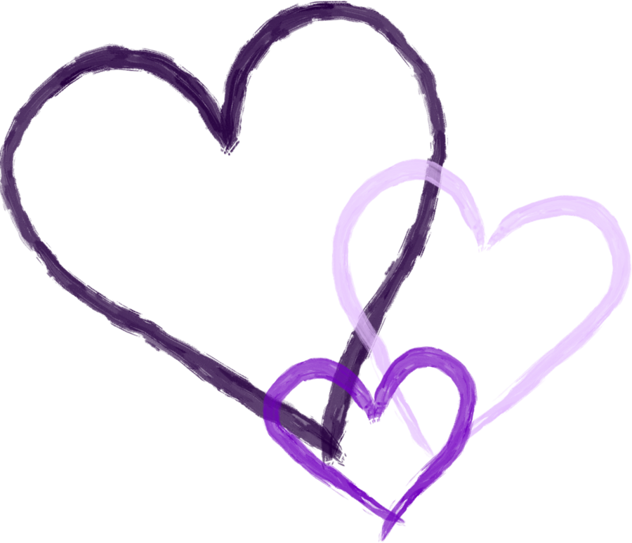 Purple Hearts by rockleefreak13 on Clipart library - PNG Purple Heart
