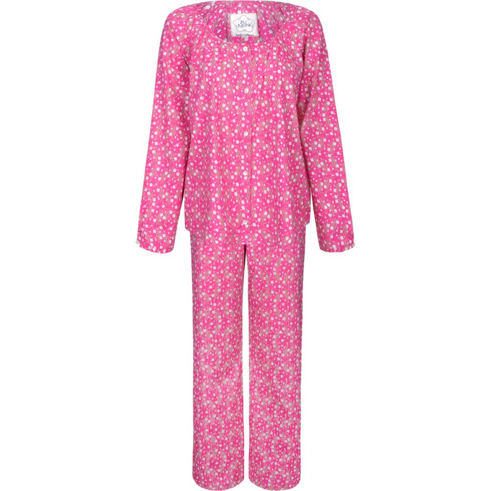 Cup Of Tea Womens Pyjamas Pink. u2039 - PNG Pyjamas