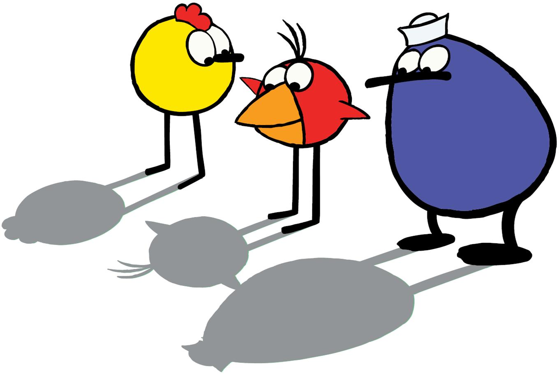 Peep Quack and Chirp.png - PNG Quack