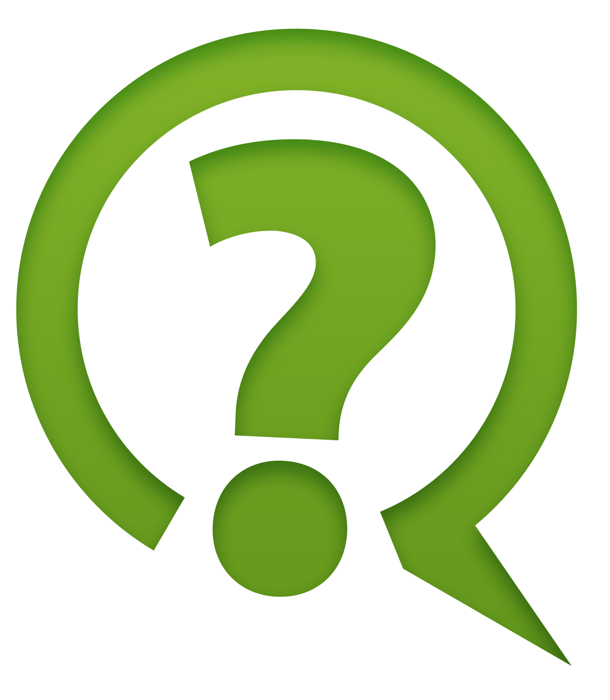 Free Icons Png:Green Question Mark Icon Png ClipArt - PNG Question
