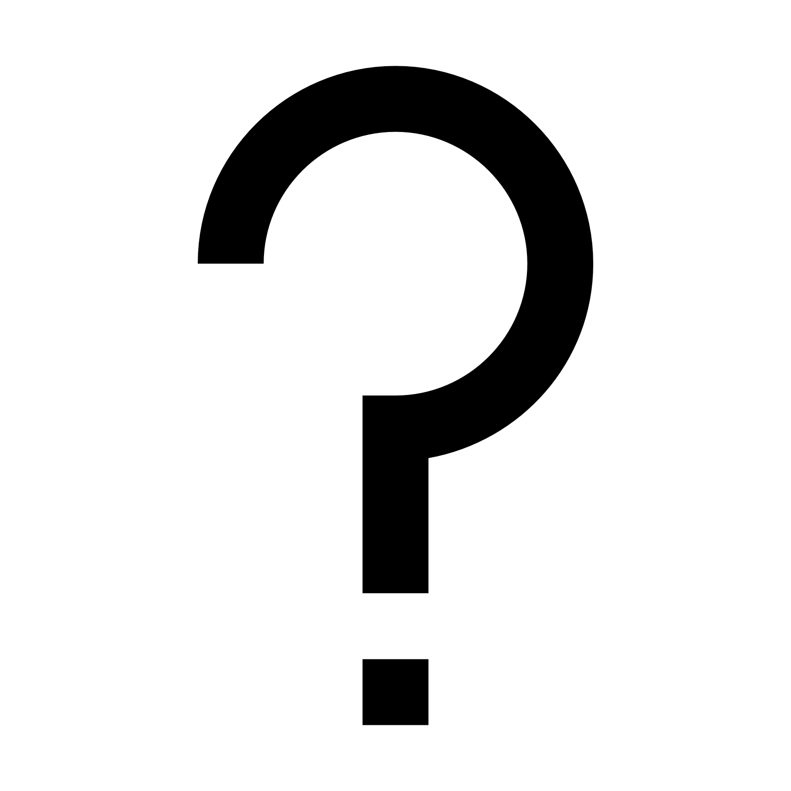 Question Mark icon - PNG Question