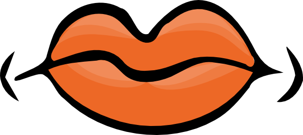 Quiet mouth smile clip art fr
