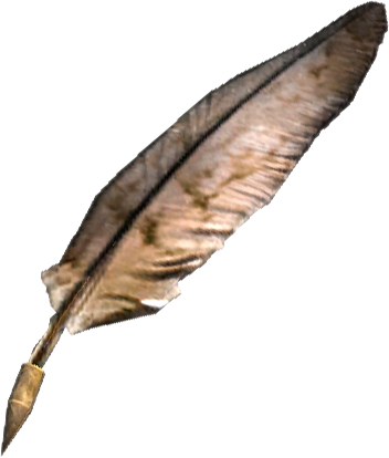 File:TESV Misc Quill.png - PNG Quill