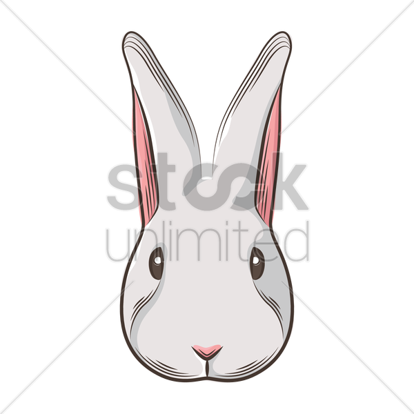 rabbit face vector graphic - PNG Rabbit Face