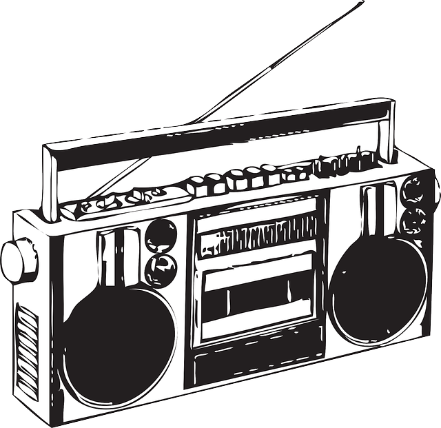 PNG Radio Black And White - 75586