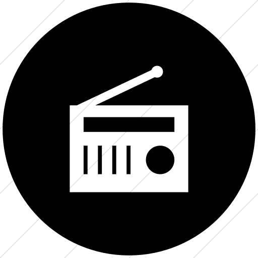 PNG Radio Black And White - 75596