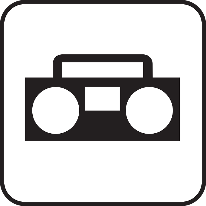 PNG Radio Black And White - 75591
