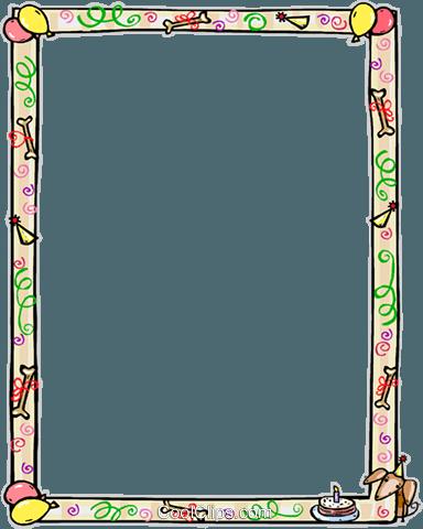 PNG Rahmen Geburtstag - 67708